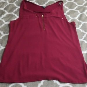 Express Red Tank Top